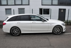 Mercedes C Estate 450 AMG SPORT, al descubierto