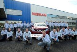 Nissan fabrica la unidad dos millones del Qashqai