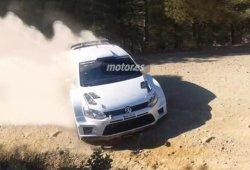 Ogier pone a punto el VW Polo R WRC 2015 en Almeria