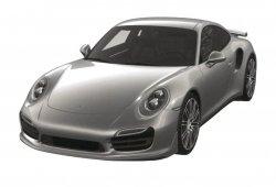 Porsche 911 Turbo 2016 filtrado por la oficina de patentes