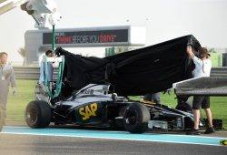 El McLaren Honda no despega: sólo dos vueltas en la última jornada