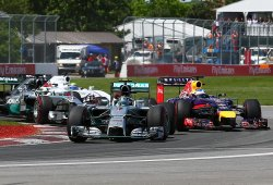 Red Bull propone volver a los motores V8 y Mercedes amenaza con irse si eso sucede