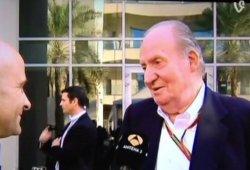 Rey Juan Carlos: 'Fernando Alonso me ha dicho que se va a McLaren'