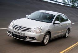 Rusia - Octubre 2014: El Nissan Almera dobla sus ventas