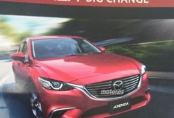 ¿Se ha filtrado el nuevo aspecto del Mazda 6 2016?