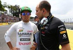 Sergio Pérez renueva con Force India con un contrato multianual