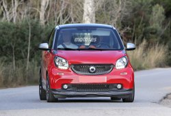 Smart Fortwo Brabus ultimando pruebas