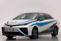 Toyota FCV, el coche más limpio del Rally de Shinshiro, Japón