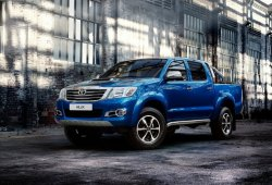Argentina - Octubre 2014: El Toyota Hilux lidera el mercado por primera vez