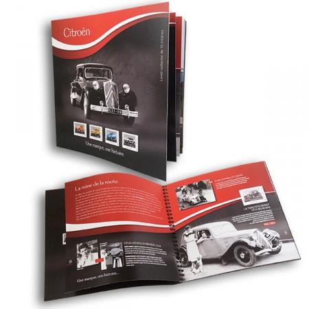 Citroën y La Poste lanzan una colección de sellos