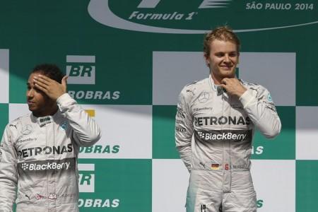 Las combinaciones que necesitan Hamilton y Rosberg para ser campeón