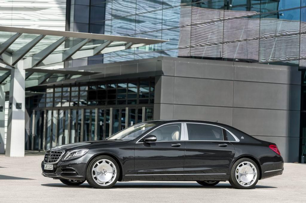 Nueva gama Maybach Mercedes, más grande, más lujoso (con vídeo)