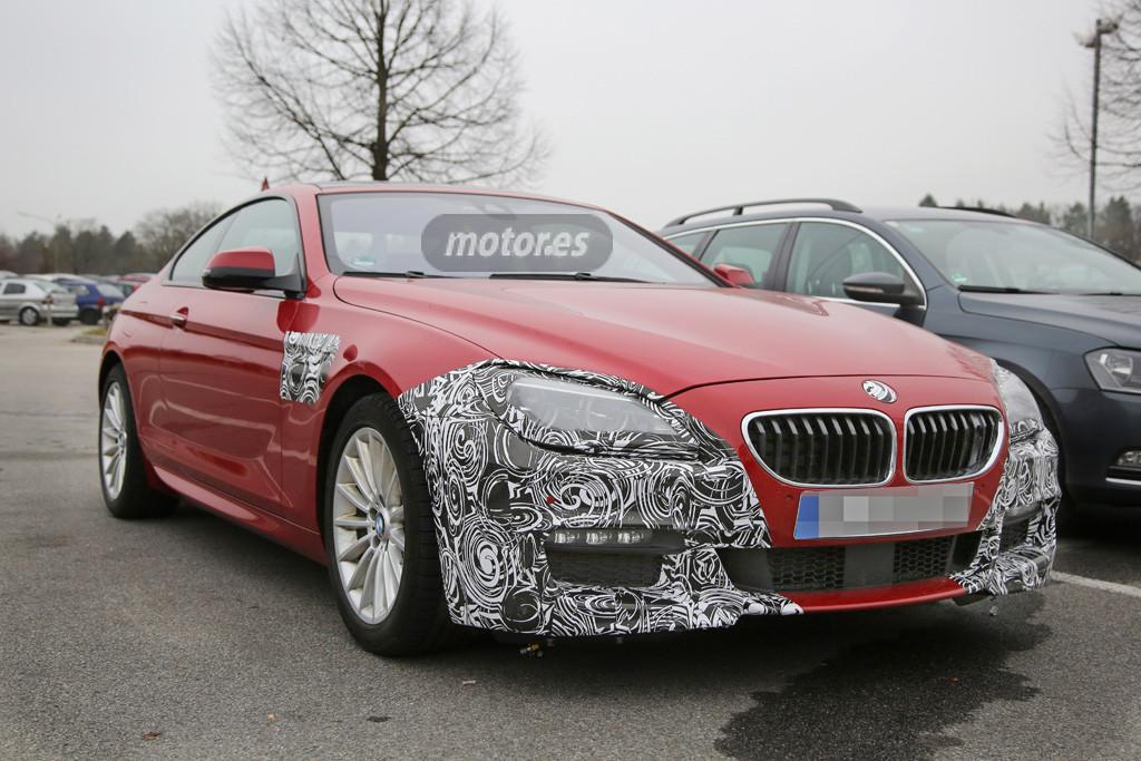 El BMW Serie 6 2015 se prepara para su actualización