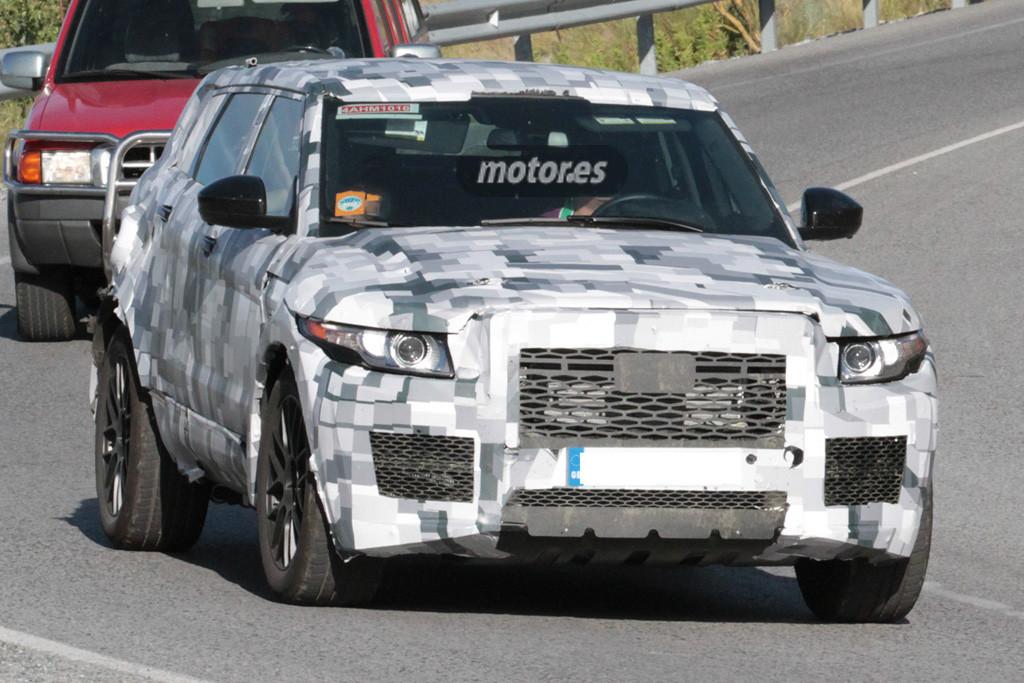 El Jaguar SUV 2017 sigue paseándose