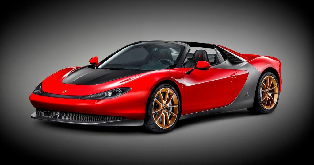 Ferrari Pininfarina Sergio, el modelo de producción se hace oficial en Ginebra 2015