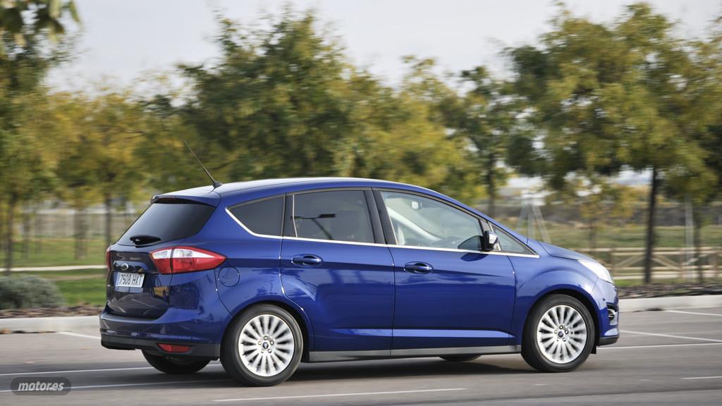 Ford C-MAX 1.6 Ti-VCT GLP: Motorización, comportamiento y economía (II)