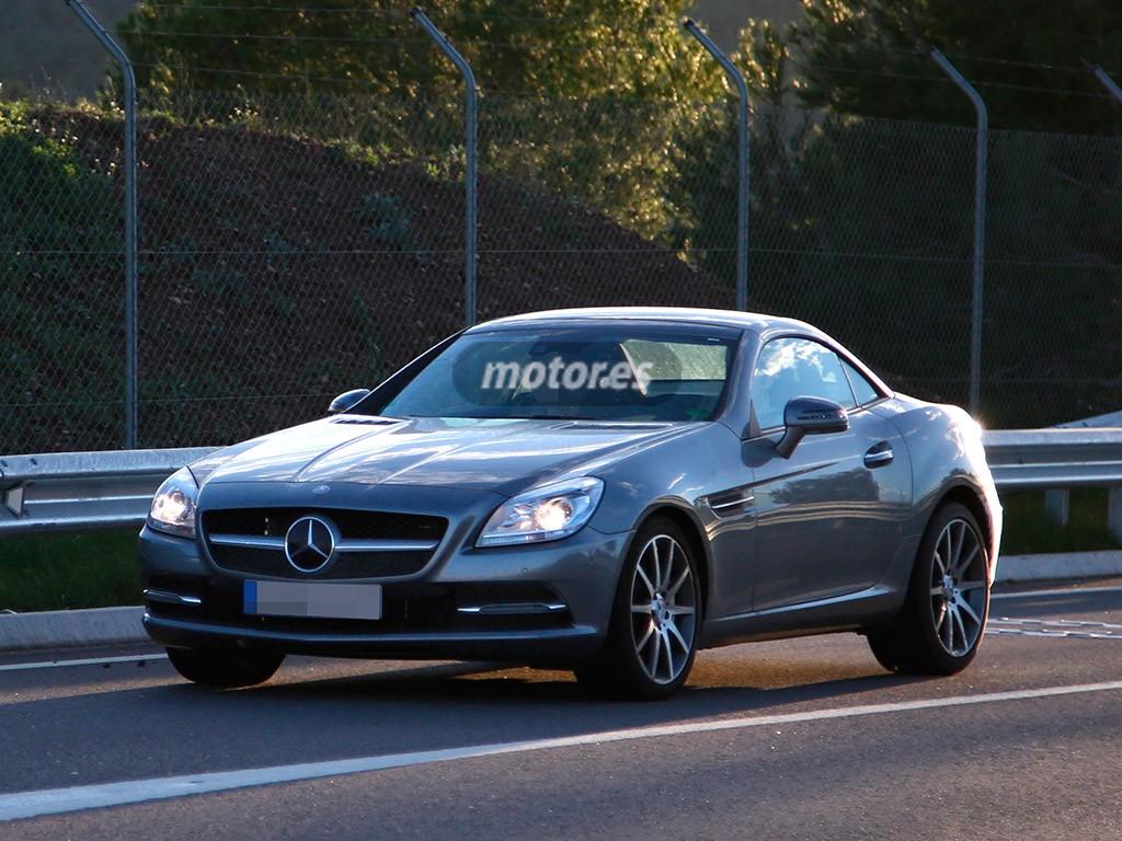 El Mercedes SLC 2015 (antiguo SLK) inicia su etapa de pruebas