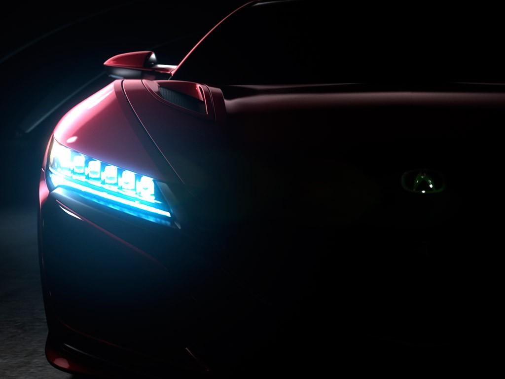 Honda NSX 2015, primeros teaser y fecha para la presentación mundial (con vídeo)