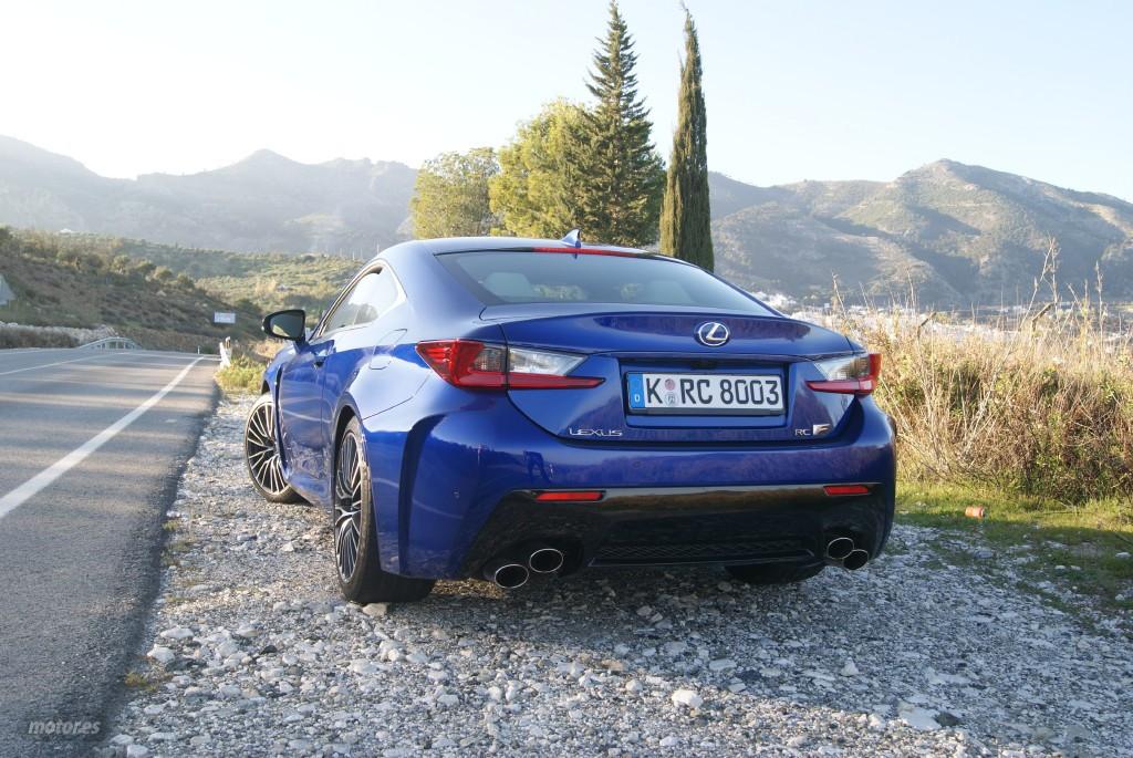 Lexus RC F ¿cómo suena su motor V8?