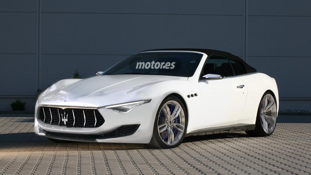 Maserati Alfieri Cabrio y Coupé para 2016 con motores V6