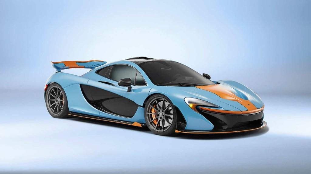 McLaren P1: MSO rinde tributo a los clásicos colores de Gulf