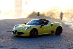 Alfa Romeo 4C Spider en vídeo. Exclusiva