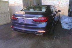 BMW Serie 7 2016 filtrado sin camuflaje