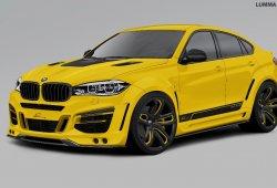 BMW X6, más bestia gracias a Lumma Design