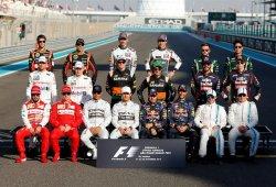 Lista de pilotos inscritos en la temporada de F1 2015: no habrá número 1