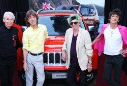 ¿Cuánto pagarías por un Jeep Renegade firmado por los Rolling Stones?