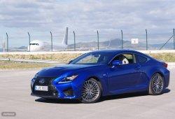 Prueba Lexus RC F:  diseño y seguridad