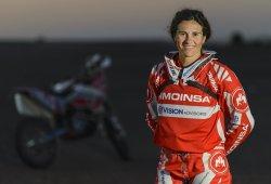 Rosa Romero: ''Mi objetivo es terminar el Rally Dakar 2015''