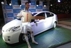 Sergio Ramos ya tiene un Toyota Prius