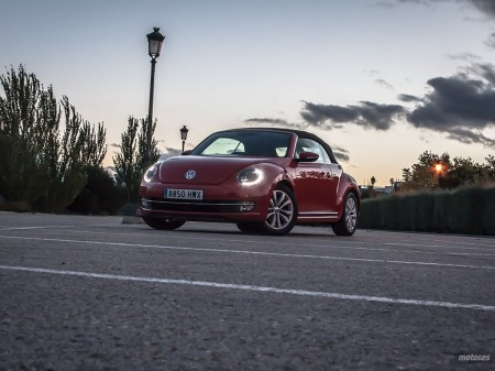 Prueba Volkswagen Beetle Cabrio (II): Diseño y habitabilidad