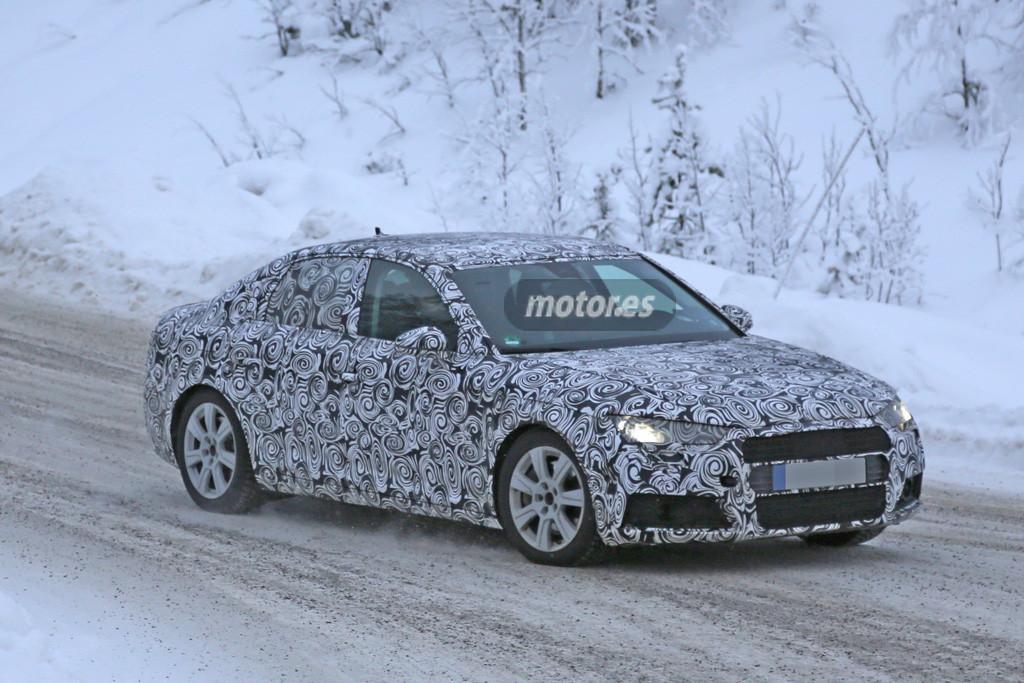 Audi A4 2015, a la vista sus primeros detalles