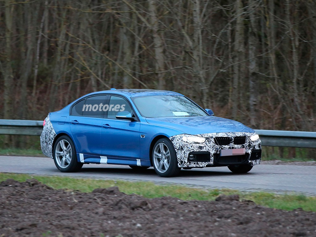 BMW Serie 3 2015, descubierto por primera vez con el paquete M