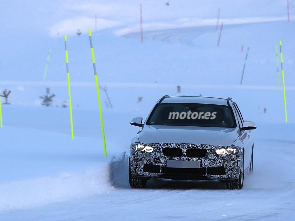 BMW Serie 3 Touring 2015, nuevas imágenes del familiar antes de su lanzamiento