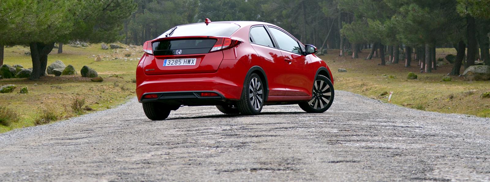 Honda Civic 1.6 i-DTEC (III): Comportamiento, consumos y valoración