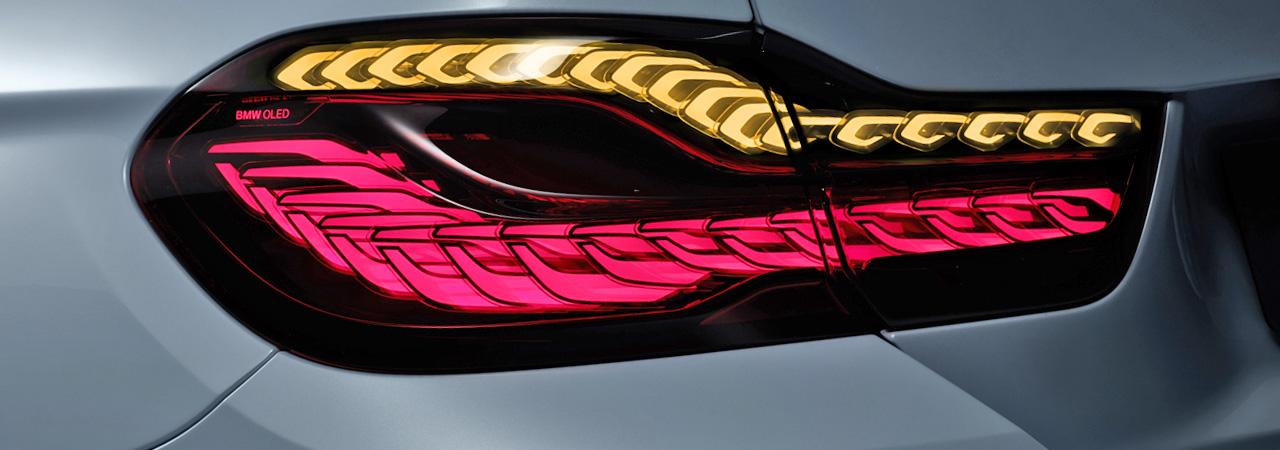 Iluminación BMW: Faros láser y OLED para el M4 Iconic Lights