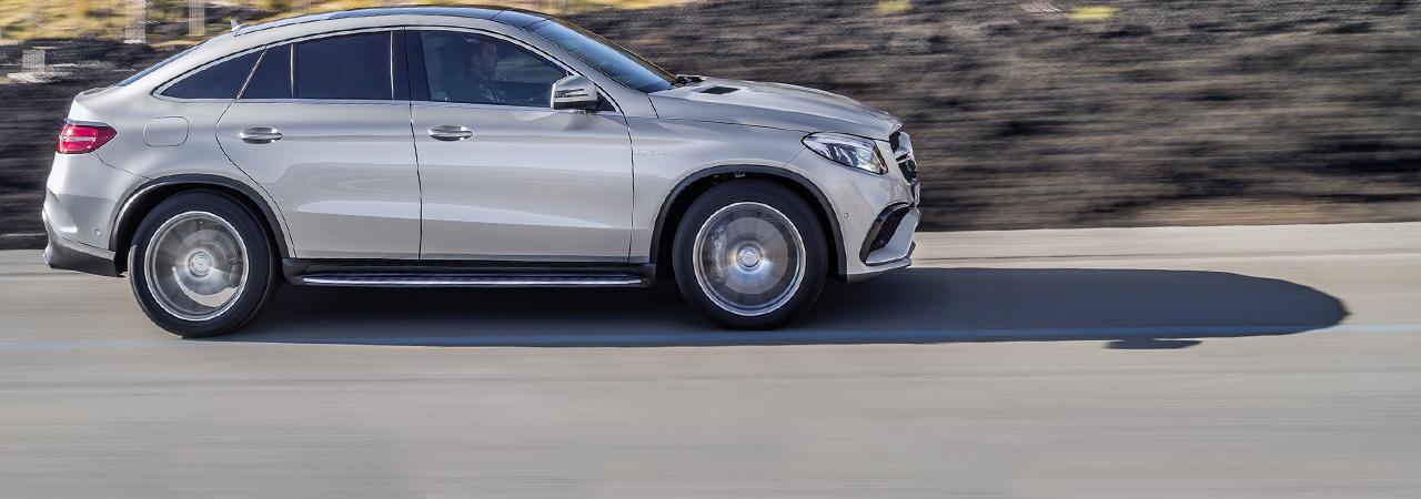 Mercedes-AMG GLE 63 Coupe, un gran SUV de 585 CV para dominarlos a todos