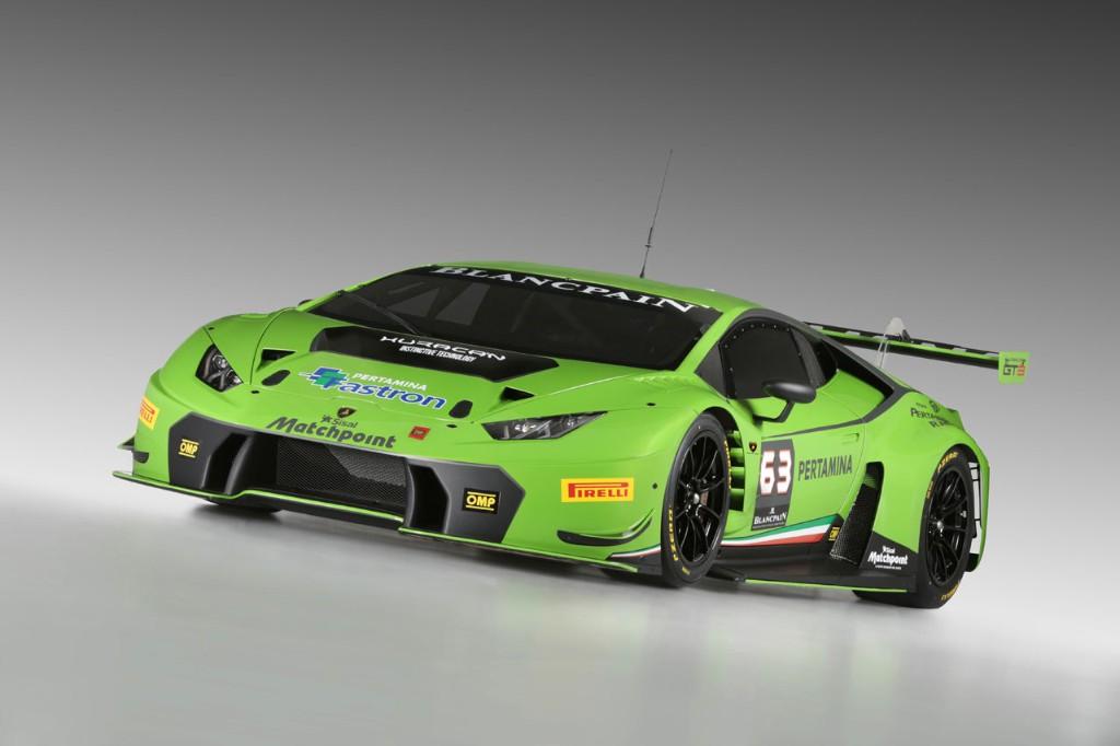Lamborghini Huracán GT3, una nueva arma para la competición