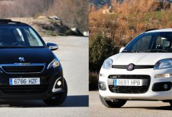 Fiat Panda 1.2 GLP contra Peugeot 108 1.2 VTi: motores y equipamiento (I)