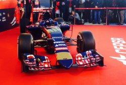 El nuevo Toro Rosso F1 2015, el STR10, presentado hoy en Jerez