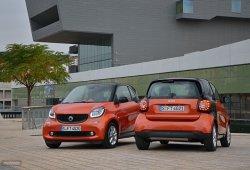 Nuevo cambio automático de doble embrague para el Smart ForTwo