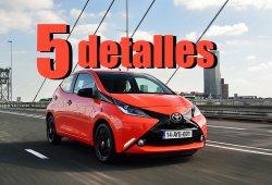5 detalles del Toyota Aygo 2015 que te gustarán