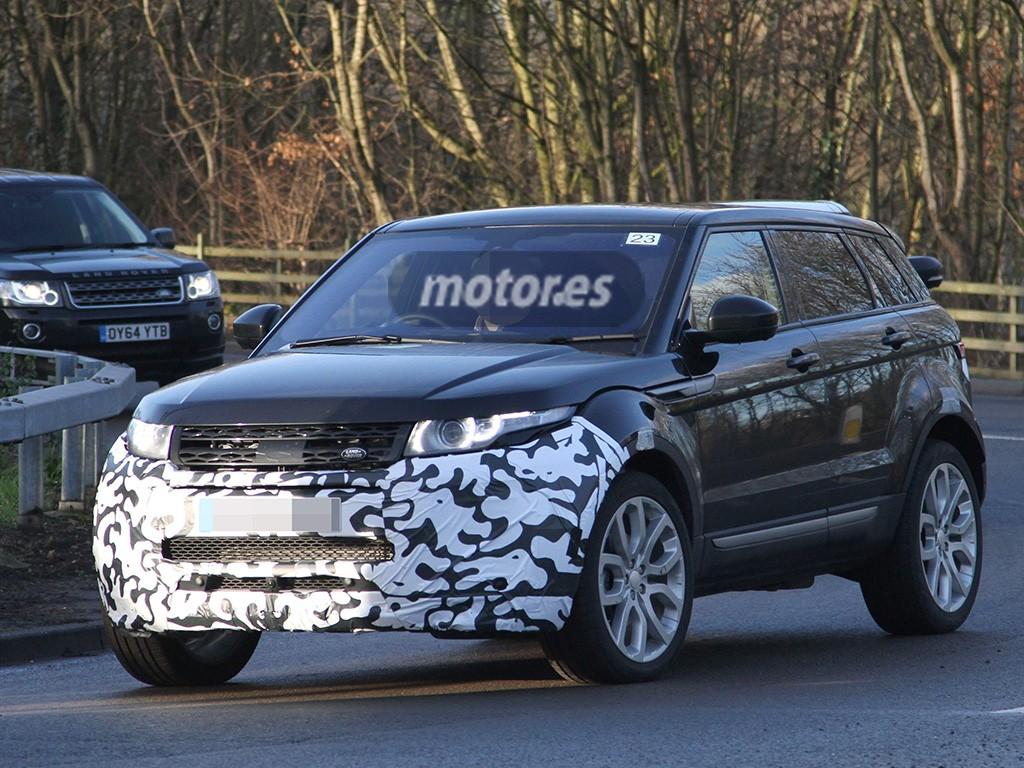 Range Rover Evoque 2016, primeras imágenes de su facelift
