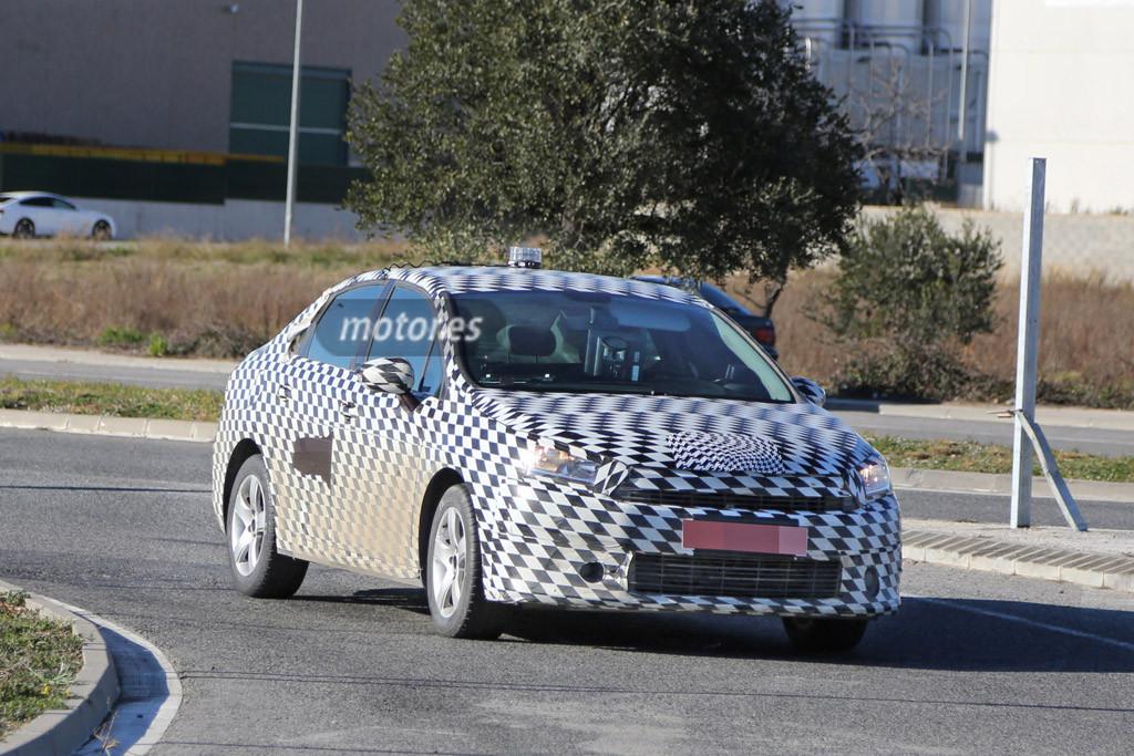 Citroen DS4 Sedán 2016 pillado en España