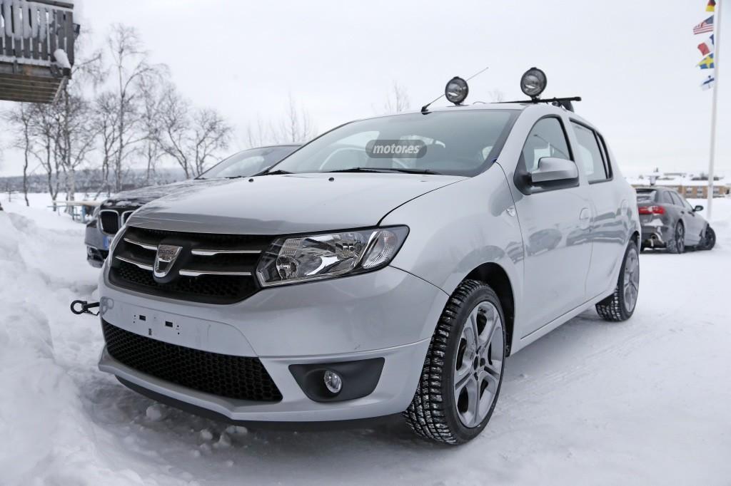 Dacia Sandero RS, una vez más, avistado en fase de pruebas