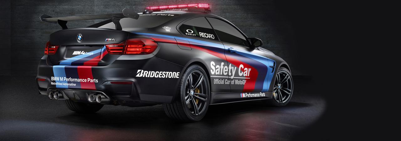 BMW M4 Coupe, el 'Safety Car' de MotoGP 2015