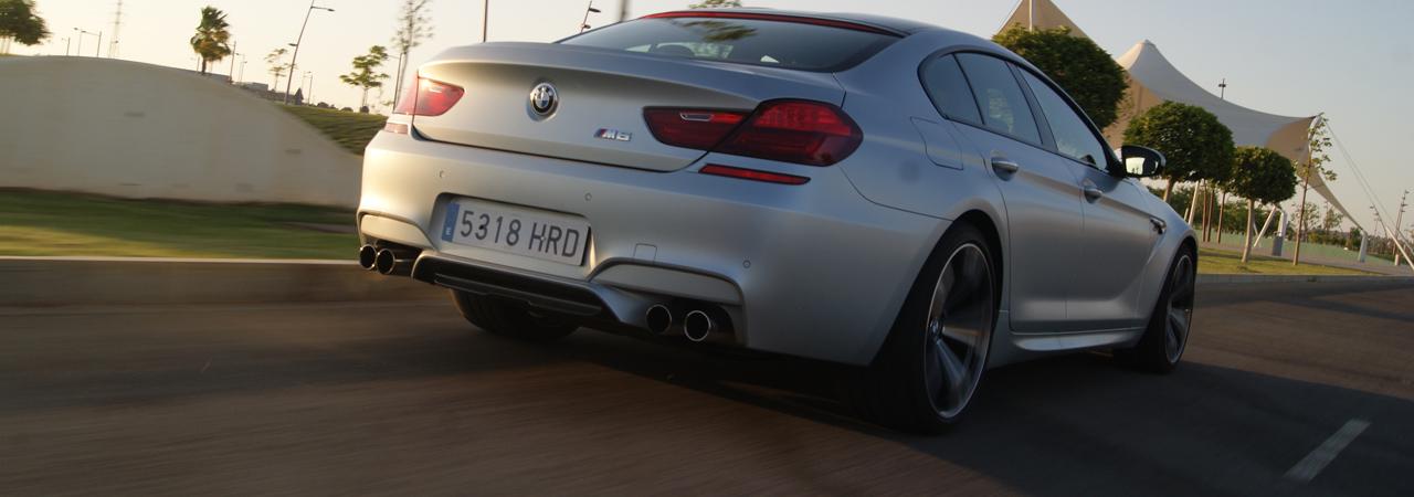 BMW M6 Gran Coupé: Un paseo por las nubes